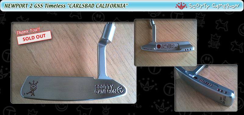 "NEWPORT 2 GSS Timeless ""CARLSBAD CALIFORNIA"" (ITEM No. 1202)"